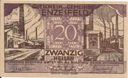 20 Heller (Enzesfeld) -  obverse