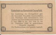 10 Heller (Enzesfeld) -  reverse