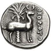 Drachm - Theodotos – reverse