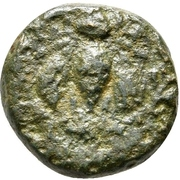 Bronze Æ13 - Menas – obverse