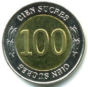 100 Sucres (Central Bank) -  reverse