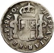 2 Reales - Fernando VII – reverse