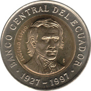 1000 Sucres (70th Anniversary - Central Bank) -  obverse