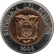 100 Sucres (Antonio José de Sucre) -  obverse