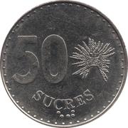 50 Sucres -  reverse
