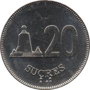 20 Sucres -  reverse