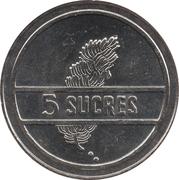 5 Sucres -  reverse