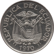 1 Sucre (different design of head) -  obverse