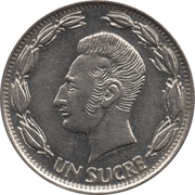 1 Sucre (different design of head) -  reverse