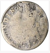 2 Reales (Counterstamped) – reverse