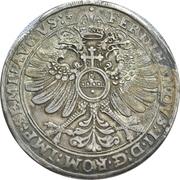 1 Thaler - Ludwig II, Johann Kasimir and Georg Albrecht – reverse