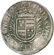 60 Kreuzer - Georg Albrecht II – reverse
