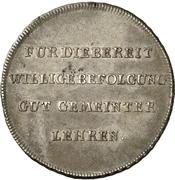 1 Thaler - Franz (Kleetaler) – reverse