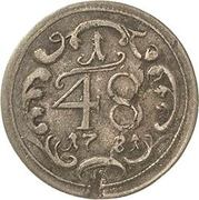 1/48 Thaler - Friedrich Carl Josef – reverse