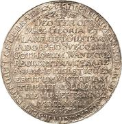 1 Thaler (Victory at Leipzig) – reverse