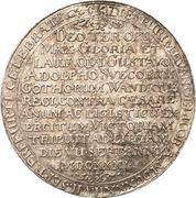 1 Thaler (Victory at Leipzig) – reverse