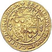 1 Ducat - Gustav Adolf II. – reverse