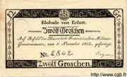 12 Groschen (Siege of Erfurt) – obverse