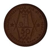 50 Pfennig - Erfurt (Reemtsma & Söhne) -  obverse