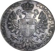 1 Tallero / 5 Lire - Vittorio Emanuele III – reverse