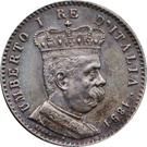 1 Lira - Umberto I – obverse