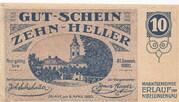 10 Heller (Erlauf im Nibelungengau) -  obverse