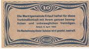 10 Heller (Erlauf im Nibelungengau) -  reverse