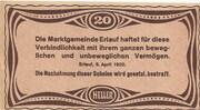20 Heller (Erlauf im Nibelungengau) -  reverse