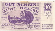 10 Heller (Erlauf im Nibelungengau) – obverse