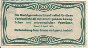 20 Heller (Erlauf im Nibelungengau) – reverse