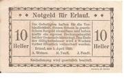 10 Heller (Erlauf - A. Weiner, M. Teufl, J. Fendt) – obverse