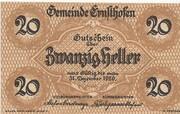 20 Heller (Ernsthofen) – obverse