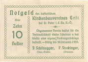 10 Heller (Ertl) -  reverse