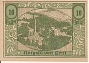 10 Heller (Ertl) – obverse