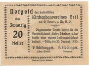 20 Heller (Ertl) – reverse