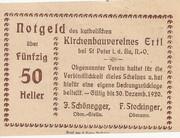 50 Heller (Ertl) – reverse