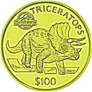 100 Dollars (Jurassic Park) – reverse