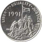 100 Cents -  obverse