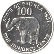 100 Cents -  reverse