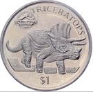 1 Dollar (Jurassic Park) – reverse