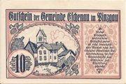 10 Heller (Eschenau im Pinzgau) – obverse