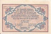 10 Heller (Eschenau im Pinzgau) – reverse