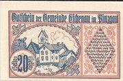 20 Heller (Eschenau im Pinzgau) – obverse