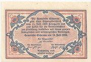 50 Heller (Eschenau im Pinzgau) – reverse