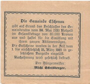 10 Heller (Eschenau) – reverse