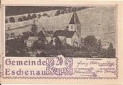 20 Heller (Eschenau) – obverse