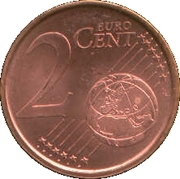 2 Euro Cent (2nd type) – reverse