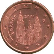 5 Euro Cent (1st type) -  obverse