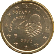 10 Euro Cent (1st type; 1st map) – obverse