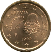 20 Euro Cent (1st type; 1st map) -  obverse